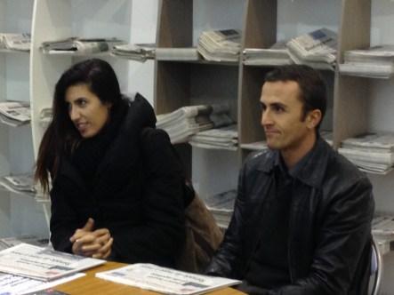 Altri due fedelissimi lettori: Fiorella Giaffreda di Parabita e Marco Bernardini di Lecce