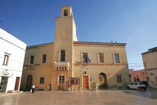 Taviano, Municipio