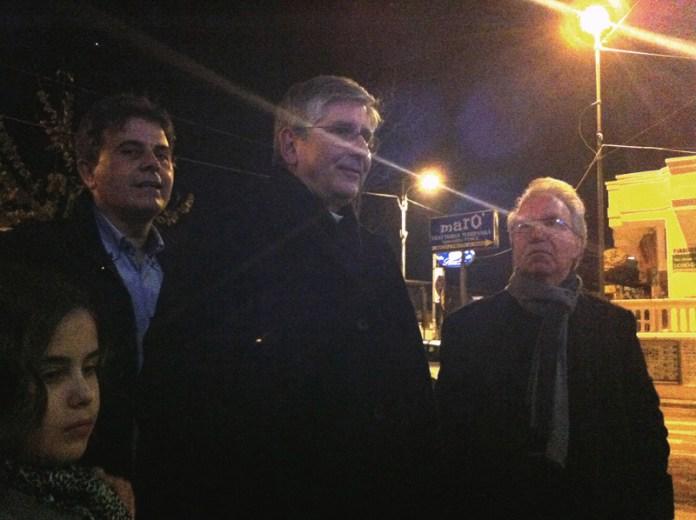 Inaspettata visita del nuovo vescovo a Mancaversa