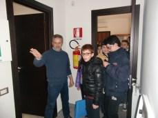 2. I ragazzi visitano la stanza che custodisce il Server