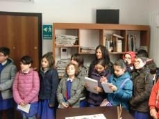 Visita in redazione dall'Istituto comprensivo di Aradeo 26.03.14