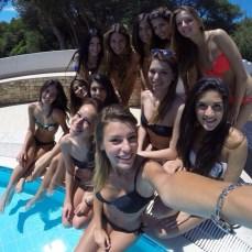 Miss Mondo Italis 2014. Selfie