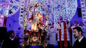 San Giorgio 2014 luminarie e Santo - foto di Raffaele Leopizzi