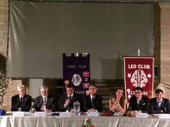 LIONS CLUB CASARANO PASSAGGIO CONSEGNE 28.06.2014