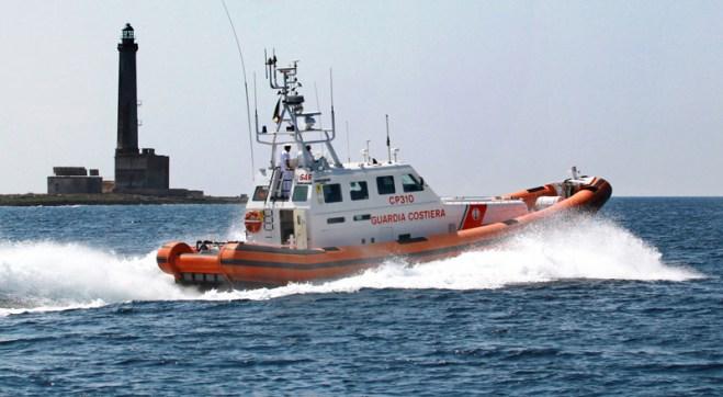 Foto da Guardia Costiera