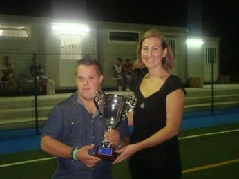 Mario Urbani ritira il trofeo