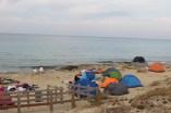 Accampamenti sul litorale Baia verde