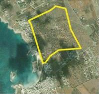 I confini dell'area per insediamenti turistici previsto nei piani urbanistici del Comune