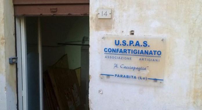 associazione artigiani vecchia sede via lopez y rojo - parabita