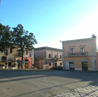 La piazza allo stato attuale