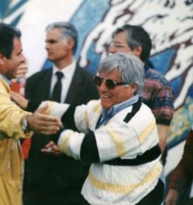 I festeggiamenti con Benito Papadia