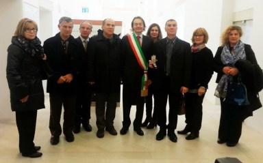 La cerimonia di consegna della Medaglia a Antonio Parente