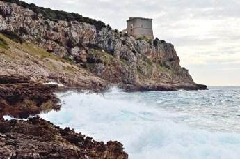 Torre dell'Alto vista da Portoselvaggio (foto Fernando Spirito)