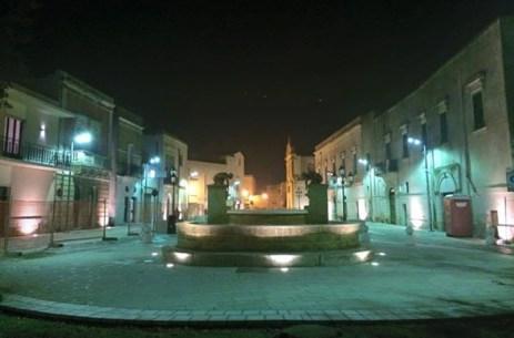 Piazza San Sebastiano a Racale