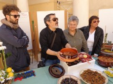 Luigi Mbapi Tricarico e la zi' Ivana (Ivana Pisanello)