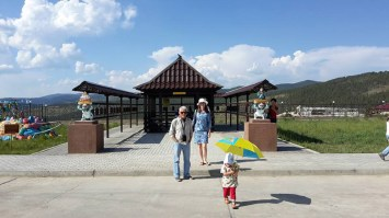 Ulan Ude sotto il lago Baikal