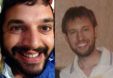 Da sinistra Diego Vitale e Andrea Barone