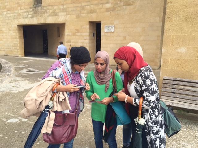 Parabita dallegitto a visitare il cimitero monumentale piazzasalento