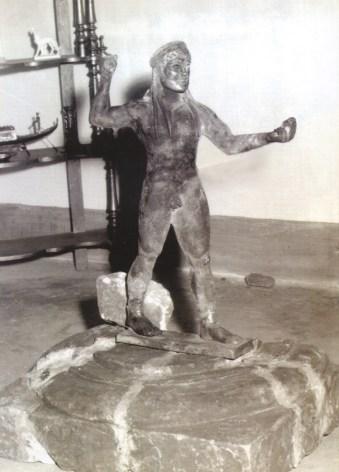 La statua di Zeus alla scoperta