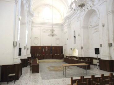 L'ex chiesa di Santa Filomena, poi Aula consiliare