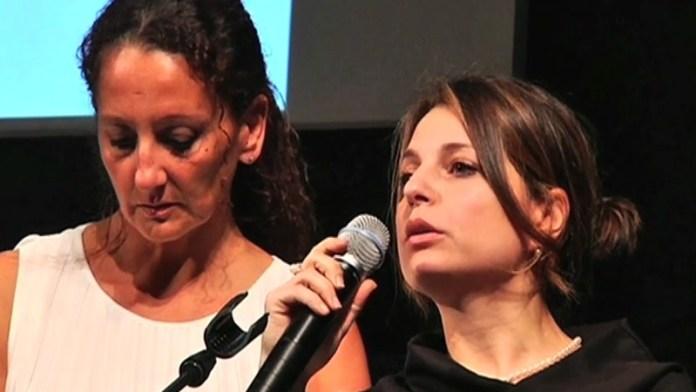 Sabrina e Viviana Matrangola Figlie di Renata Fonte al premio