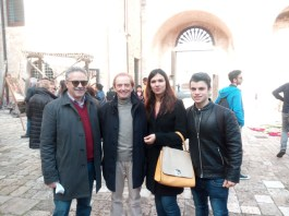 Fernando D'Aprile, Osvaldo Bevilacqua, Entela Isufaj e Gianluigi