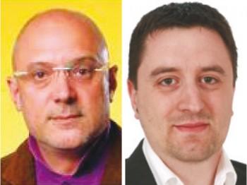 Da sinistra, il vicesindaco uscente Antonio Venneri e il capogruppo pd Daniele Fersini