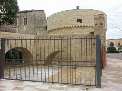 IL RESTAURO ULTIMATO. Il torrione del castello quattrocentesco