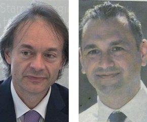 Da sinistra, il consigliere ex Sindaco Marcello Risi e l'assessore Giampiero Lupo
