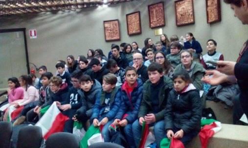 Polo 3 di Casarano - Alunni in visita al Consiglio regionale del 17.1.17...