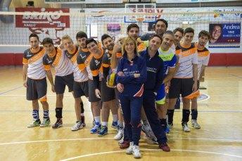 In primo piano Sandra Torchia