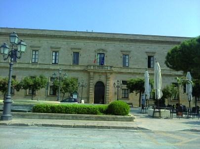 Il Municipio di Casarano