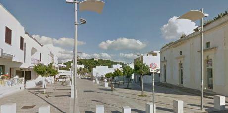 La piazza di Santa Caterina