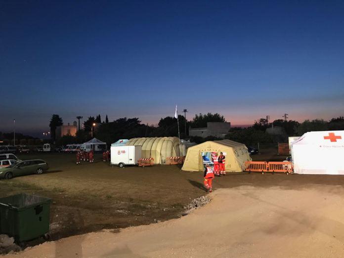 Melpignano - ospedale da campo 118-CRI4