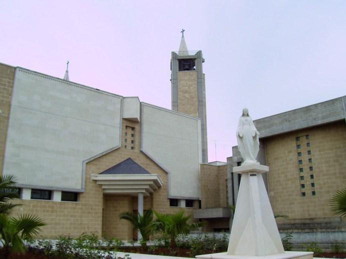 Casarano, la parrocchia del Cuore Immacolato