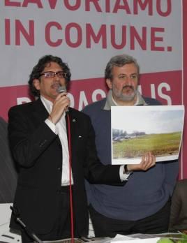 Giancarlo De Pascalis con Emiliano