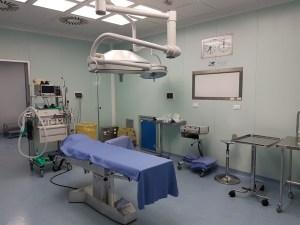 Sala operatoria al Pispico di Poggiardo (1)