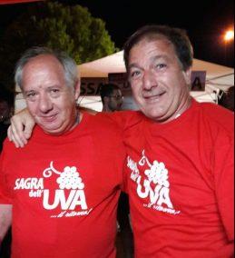 Vito Quido e il sindaco Luigi Arcuti