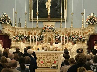 Don Antonio Schito e Monsignor Angelo De Donatis