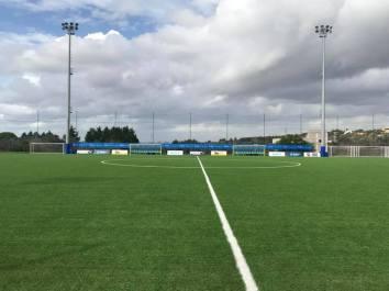 L'impianto di gioco della Soccer Dream Parabita
