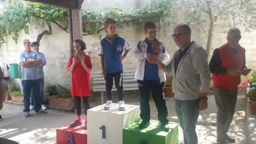 Premiazione Matteo Beccarrisi