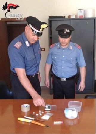 carabinieri tricase droga