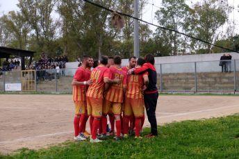 La squadra dopo un gol