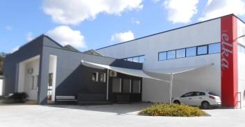 sede dell'Elka nella Zona industriale di Collepasso