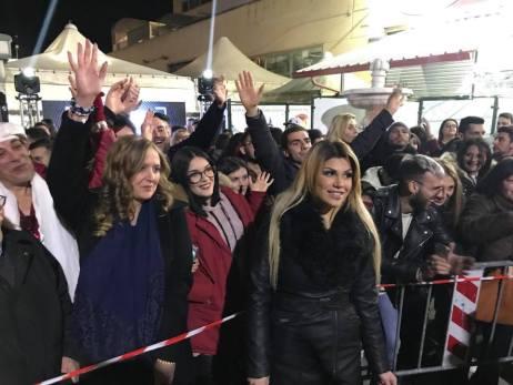Grande Fratello - selezioni a Matino con Mia Cellini
