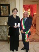 Irene Giaffreda e il commissario Quaranta