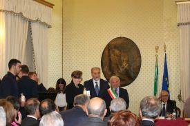 Irene Giaffreda, il giudice Roberto Tanisi e il commissario Quaranta