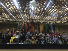 La scuola di Patù in visita al Consiglio Regionale (2)