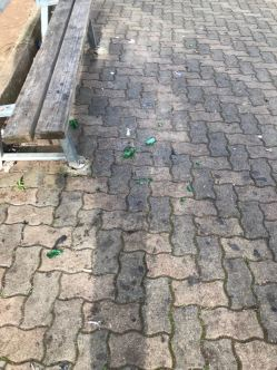 Vandalismo Villa Comunale 2 - Notte 31 dic.