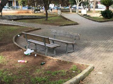 Vandalismo Villa Comunale 3 - Notte 31 dic.